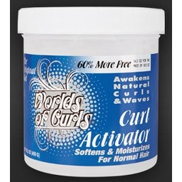 WORLDS OF CURLS Curl Activator Regular 32 oz