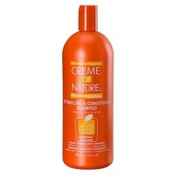 CREME OF NATURE Detangling & Conditioning Shampoo Sunflower & Coconut 32 oz