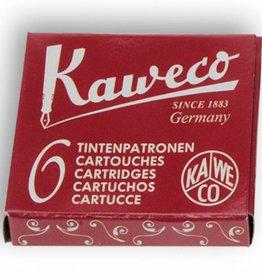 Kaweco Inktpatroon rood