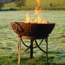 Fire Bowl 60cm - hoog