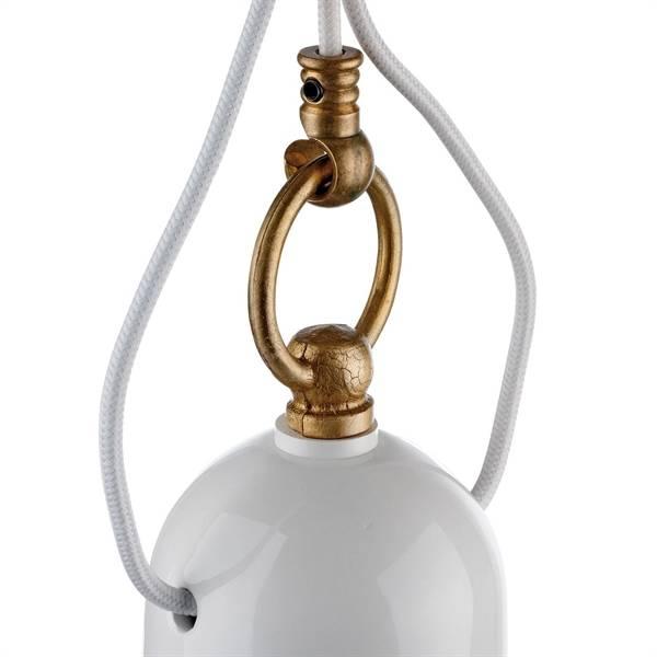 Pendellamp romantisch - stoer (wit)