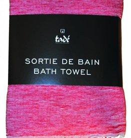 Savon de Provence Hammam handdoek Rouge - Linnen 100x180cm