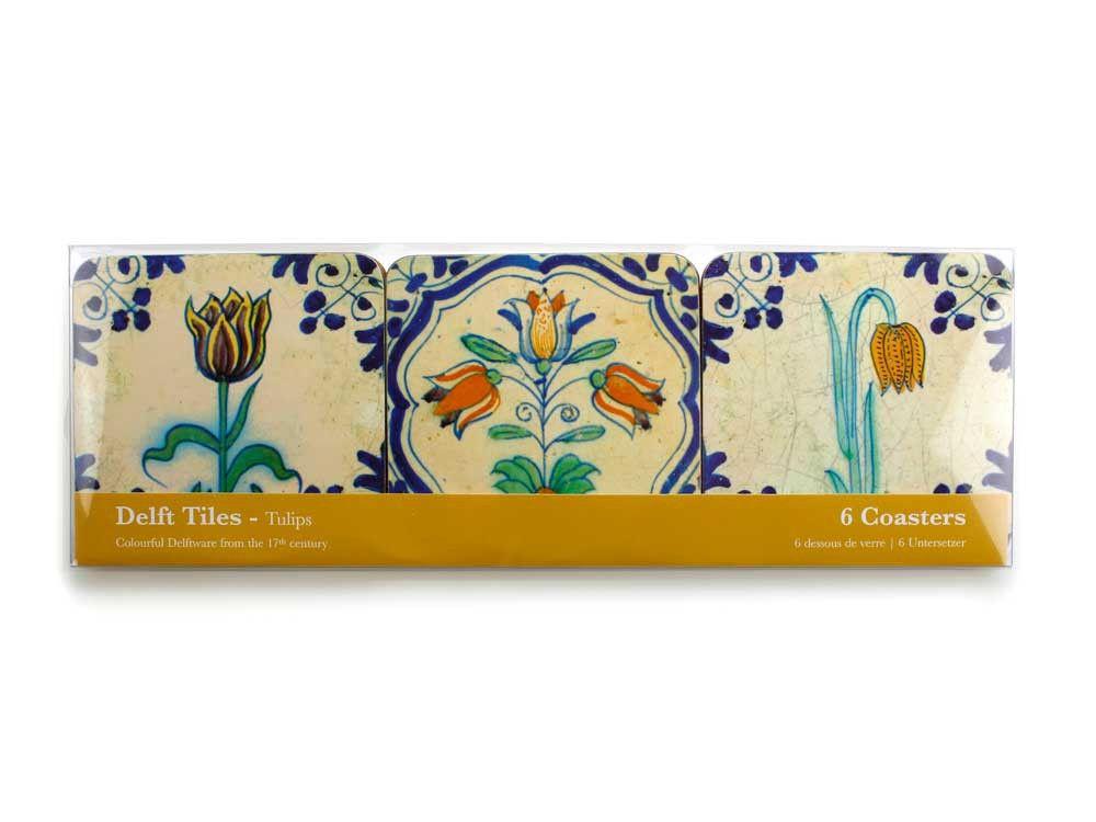 Onderzetters delft tulpen