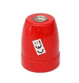 Porseleinen fitting - rood