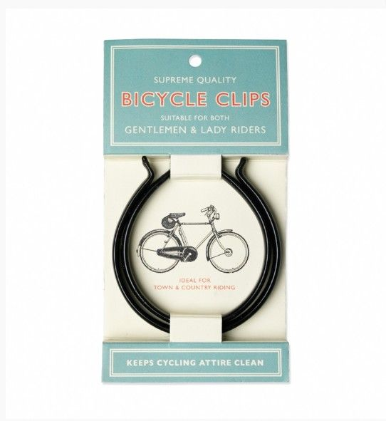 Broekpijp clips - classic bicycle clips