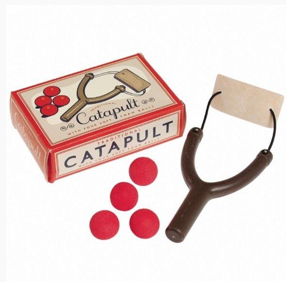 Catapult + 4 zachte ballen
