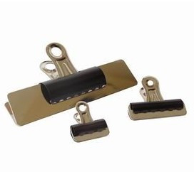 Papier clip zwart - 57mm