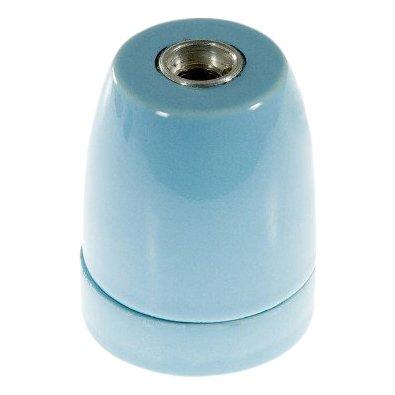 Porseleinen fitting Licht blauw - E27