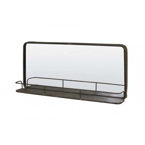 Spiegel met plank 90X3,5X40,5