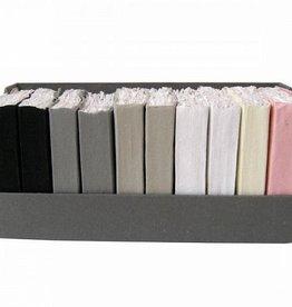 Lamali Papier katoen kleur 12x18cm