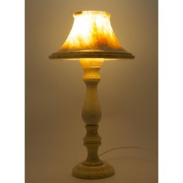 Schemerlamp Rond Onyx