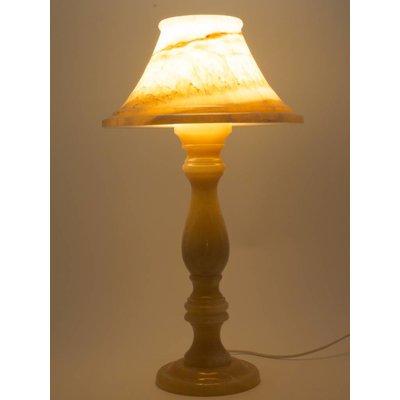 Runde Tischlampe Onyx