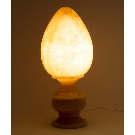 Egg Shape Lamp Onyx