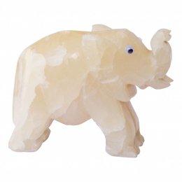 Kleiner Elefant aus Onyx