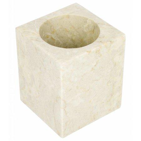 Marble Toilet Brush Holder Savoe