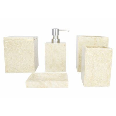 5-piece Marble Bath Set Savoe