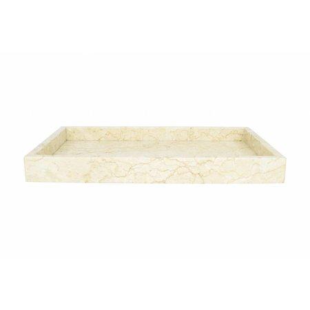 Marmor Serviertablett Banda