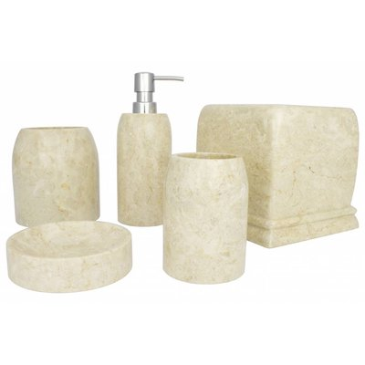 5-piece marble bath set Madewi