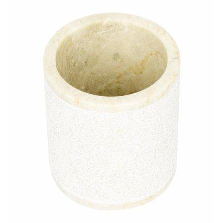 Marmor Zahnbürstenbecher Soemba