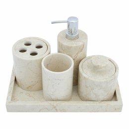 5-piece Marble bath set Madiun