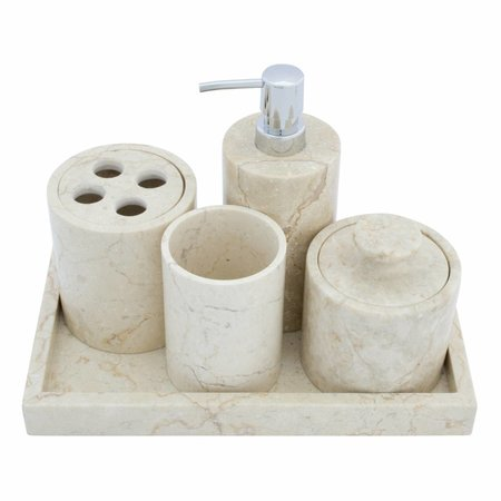 5-piece Marble bath set Madiun