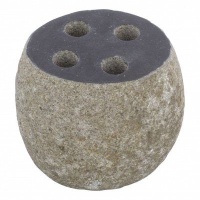 River Stone Toothbrush holder Flores