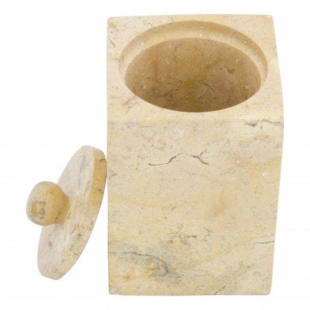 4-Teilige Marmor Badeset Java Squa
