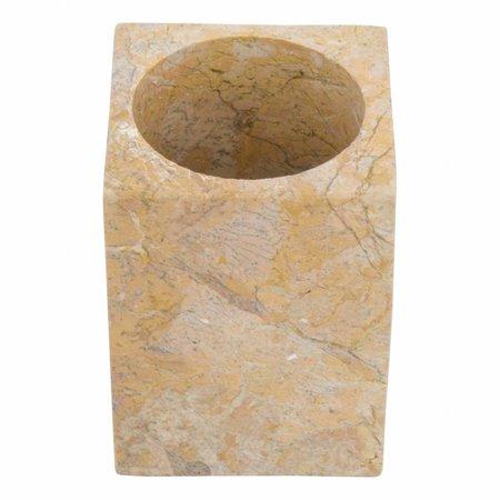4-Piece Marble bath set Java Squa