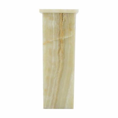 Square Lamp Onyx Hoogte 55 cm
