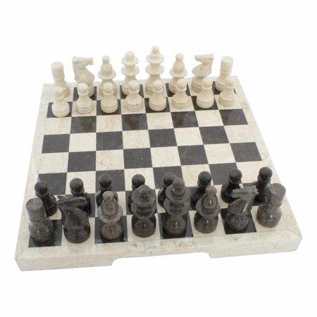Schaakbord Marmer 45 x 45 cm Model 1