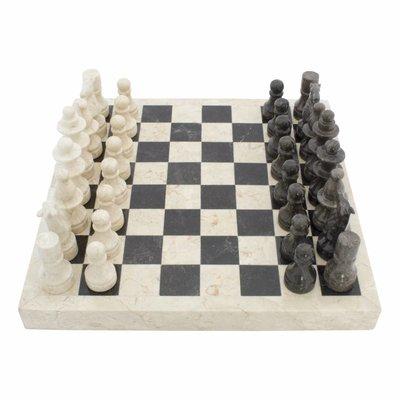 Schachbrett aus Marmor 40x40cm Modell 1