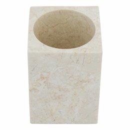 Marmor Zahnbürstenbecher Vania