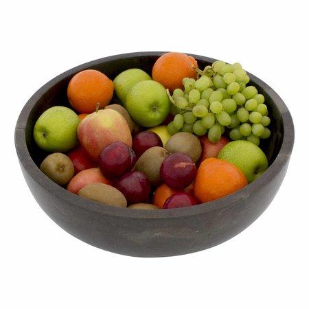 Black Marble Fruit bowl Ø 40 cm