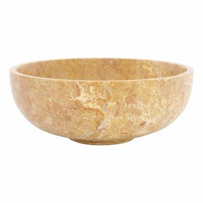 Java Rose Marble Fruit bowl Ø 25 cm