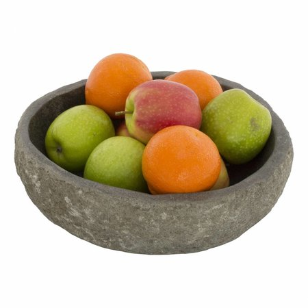 Fruitschaal van Riviersteen 25 cm