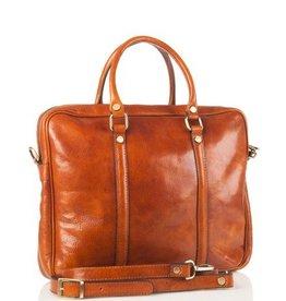 laptop tas Tijmen (cognac)