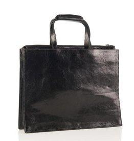 zakelijke handtas, laptoptas, laptop tas, Italiaanse  leren tas