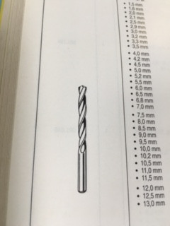 Spiraalboor 2,2 mm