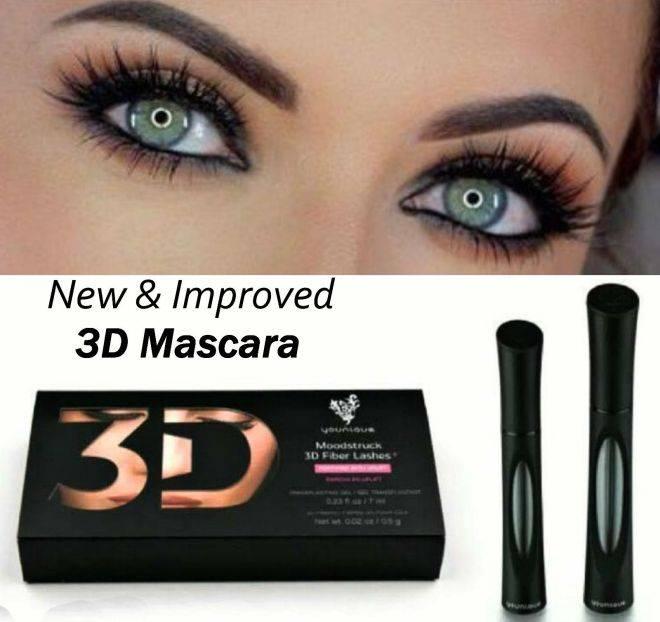2 stuks 3D Mascara Actie