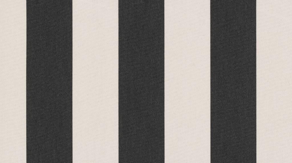 Tibelly Zonneschermdoek T507 Blok traditioneel Zwart - Creme