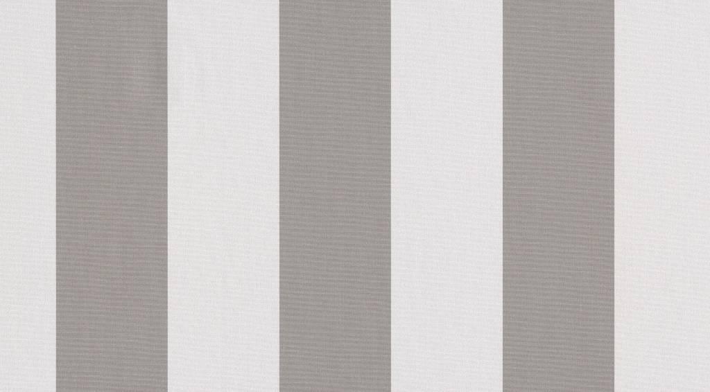 Tibelly Zonneschermdoek T503 Blok traditioneel Grijs - Wit