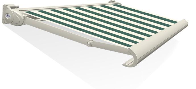Tibelly Zonneschermdoek T352 Blok XL Groen - Creme
