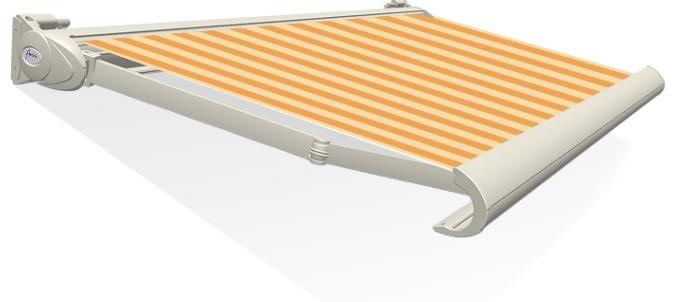 Tibelly Zonneschermdoek T521 Blok traditioneel oker - Geel