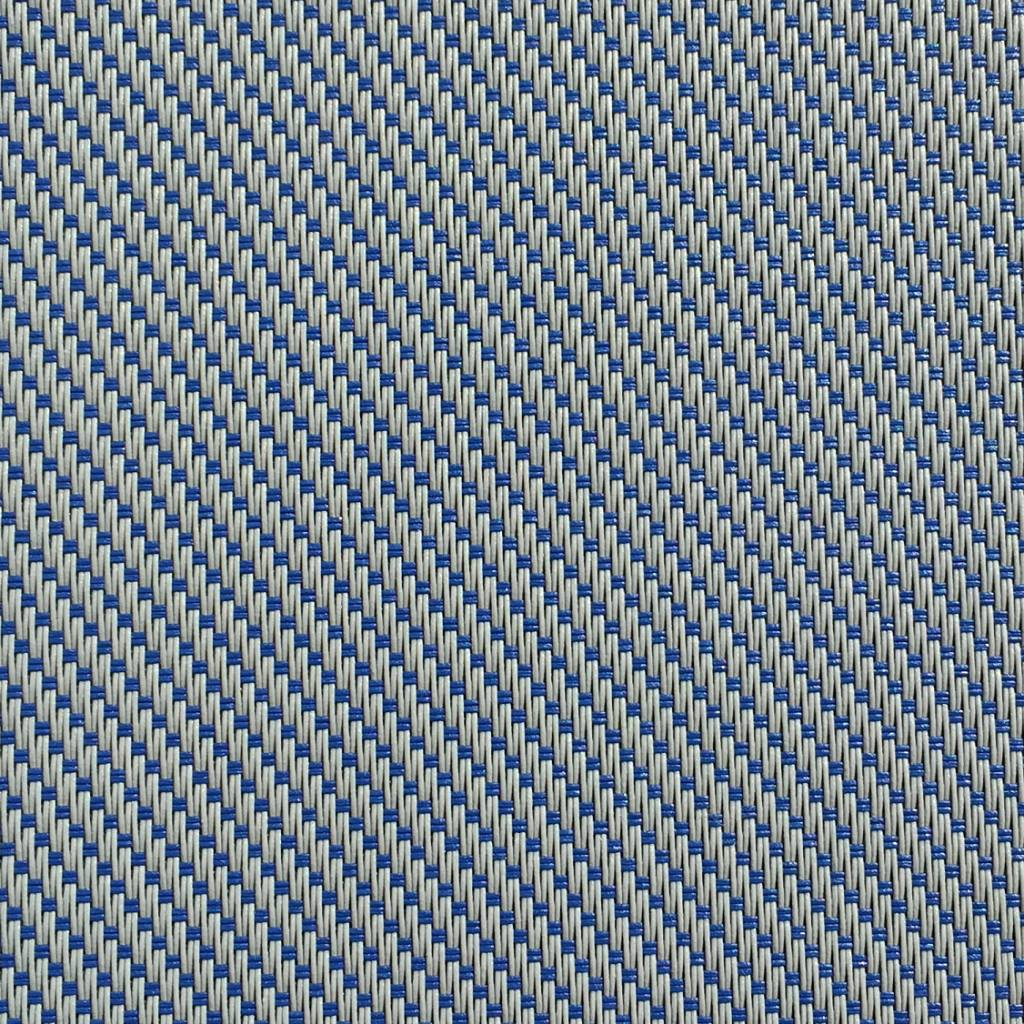 Hylas Screendoek Serge 70811B Grijs - blauw
