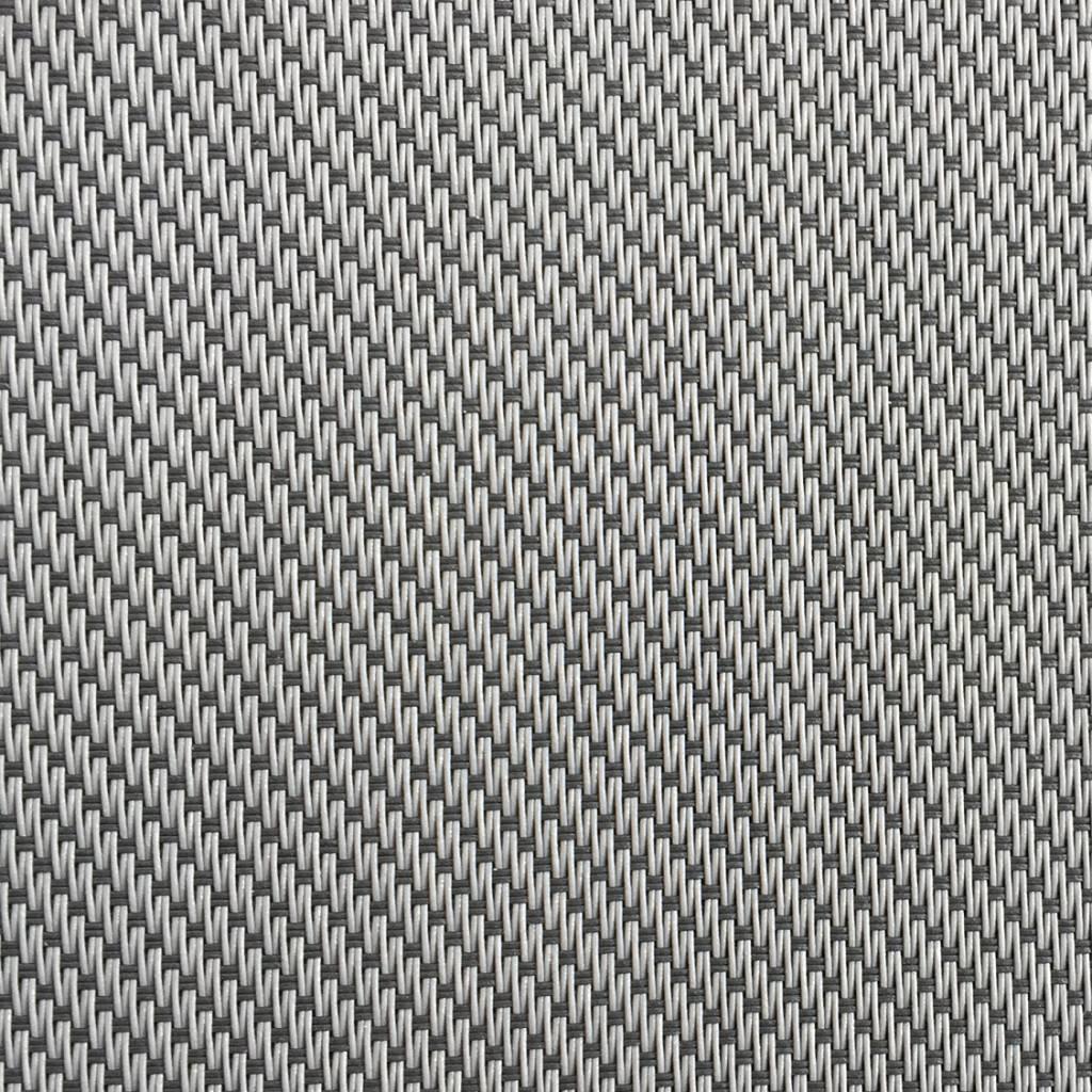 Hylas Screendoek Serge 70818B Grijs - zwart