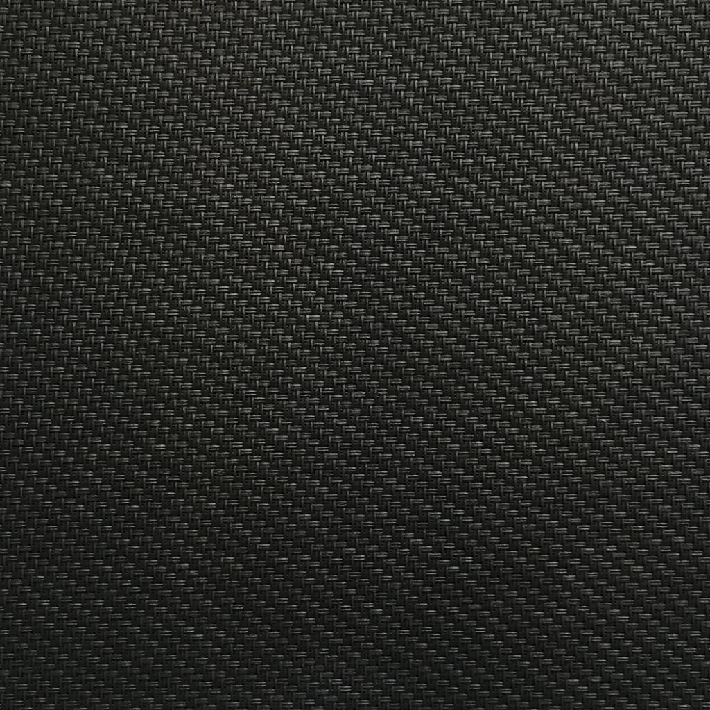 Hylas Screendoek Serge 71818B Effen zwart