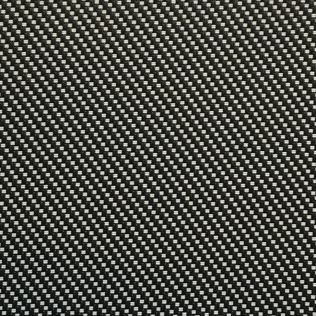 Hylas Screendoek Serge 71812B Zwart - zand
