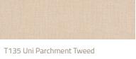 Tibelly Zonneschermdoek T135 uni parchment tweed