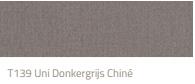 Tibelly zonneschermdoek T139 Uni donkergrijs chine