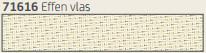 Hylas Screendoek Serge 71616 Effen vlas